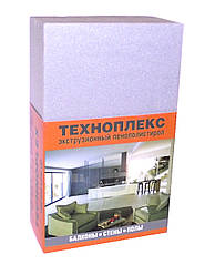 Экструдированный пенополистирол Техноплекс 1180x580x30 мм
