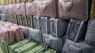 Покрывало / покривало + 3 подушки 3 стор. жаккард 170*200 (2921) TM KRISPOL Украина, фото 2