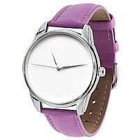 """Часы наручные """"Минимализм"""" фиолетовый"""