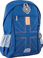 Підлітковий Рюкзак ортопедичний ТМ 1 Вересня OX 316, синій, 30.5*46.5*15.5