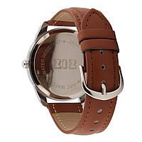 Ремешок для часов маст-хэв коричневый, серебро