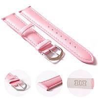 Ремешок для часов маст-хэв розовый, серебро