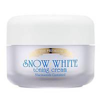 Крем для лица осветляющий Secret Key The Premium Snow White Toning Cream