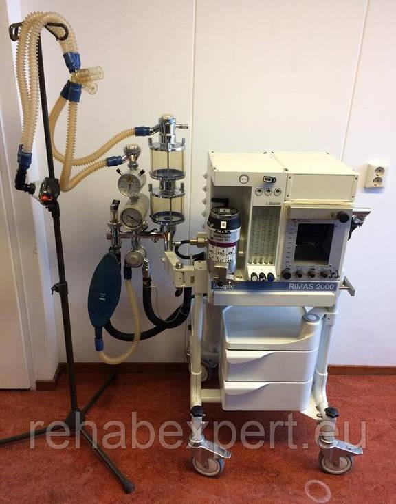 Ветеринарний анестезіологічний (наркозний) апарат Dräger RIMAS 2000 Anesthesia Machines