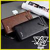 Мужской стильный кожаный портмоне Baellerry Italia