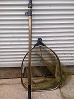 Подсак рыболовный, квадратная голова №2,ручка телескоп