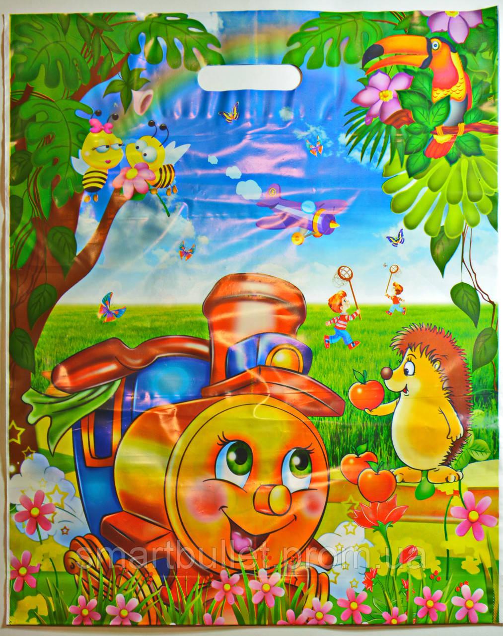 Пакет для подарка выпускнику детского сада