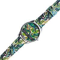 Часы наручные арт Пальмовые листья