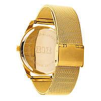 Часы наручные Золотые узоры металл