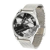 Часы наручные Тропический металл