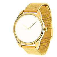 Часы наручные Минимализм металл золото