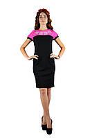 Плаття «День-Ніч» у чорно-рожевому кольорі