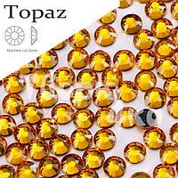 Стразы DMC - Topaz (Темно желтые) ss16