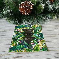 Открытка Пальмовые листья