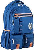 Підлітковий Рюкзак ортопедичний ТМ 1 Вересня OX 292, синій, 30*47*14.5