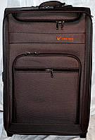 Набор чемоданов коричневый на 2 колесах 3 шт THREE BIRDS 9022 (20х23х26)