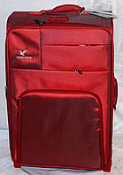 Набор чемоданов красный на 2 колесах 3 шт THREE BIRDS (20х23х26)
