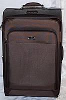 Набор чемоданов коричневый на 4х колесах 3 шт THREE BIRDS (28х24х20)