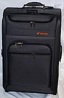 Набор чемоданов серый на 2 колесах 3 шт THREE BIRDS (20х23х26)