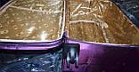 Набор чемоданов черный на 4х колесах 3 шт THREE BIRDS (28х24х20), фото 5