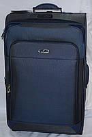 Набор чемоданов синий на 4х колесах 3 шт THREE BIRDS (28х24х20)