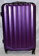 Набор чемоданов фиолетовый на 4 двойных колесах 3 шт THREE BIRDS