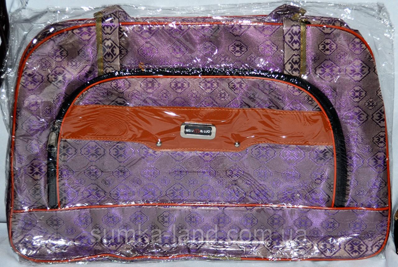 Женские дорожные сумки из текстиля (СЕРЕНЕВЫЙ)