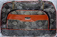Женские дорожные сумки из текстиля (СЕРЫЙ)