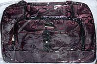 Женские дорожные сумки из текстиля (ФИОЛЕТОВЫЙ)