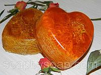 """Мыло с люфой """"Апельсин и роза"""", фото 1"""