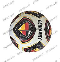 Мяч футбольный 2500-22ABCD, размер 5, полиуретан 1,4 мм, 4 слоя, 32 панели, вес 400-420 грамм, 4 вида