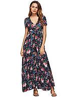Женское платье сарафан Milumia с цветочным принтом