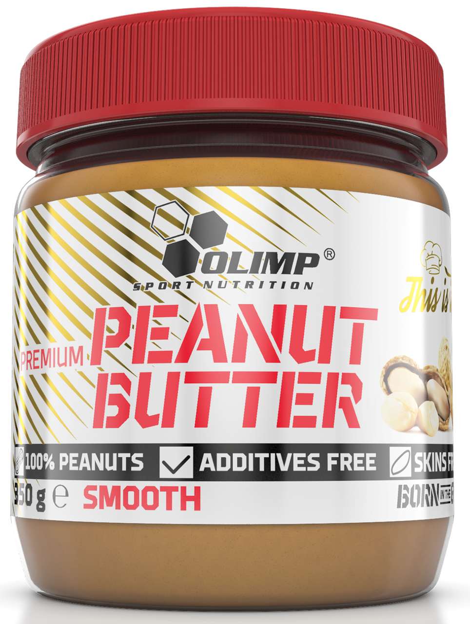 Olimp Premium Peanut Butter Smooth 350g