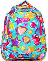 Портфели, рюкзаки и ранцы для школы (ГОЛУБОЙ - с - РОЗОВЫМ)