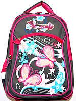 Портфели, рюкзаки и ранцы для школы (СЕРЫЙ - с - РОЗОВЫМ)