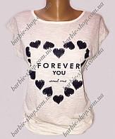 Необычные футболки с принтами для девушек