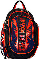 Портфели, рюкзаки и ранцы для школы (ЧЕРНЫЙ - с - КРАСНЫМ)