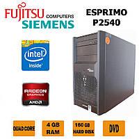 Игровой Fujitsu - 4 ЯДРА /4GB RAM /Radeon HD7470 2GB