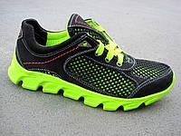 Подростковые кроссовки замш +сетка 32-39 р-р, фото 1