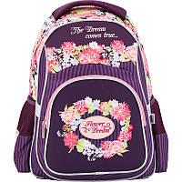 Рюкзак для девочек школьный 518 Flower Dream K17-518S Kite