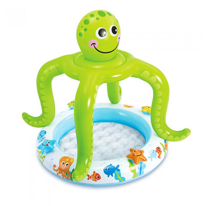 Надувной бассейн Intex Осьминог