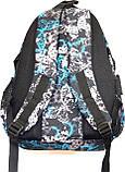 Портфели, рюкзаки и ранцы для школы (ГОЛУБОЙ - ПРИНТ - БАБОЧКИ), фото 2