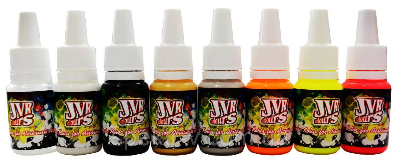 JVR Colors Fluo набор красок для маникюра
