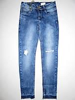 Джинсовые брюки для девочек Seagull оптом,6-16 лет., фото 1