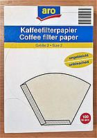 Фильтры для кофеварки в коробке, размер № 2, 200 шт (2 упаковки)