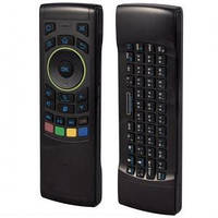 Двусторонний пульт ДУ 3в1 USB-i25 + Клавиатура + Мышь для Android, Gyroscope, Air Mouse