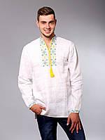 Вышиванка мужская с украинской символикой