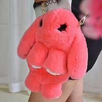Рюкзак Сумка зайка натуральный мех ( кролик )