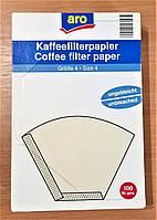 Фильтры для кофе в коробке, размер № 4, 200 шт (2 упаковки)
