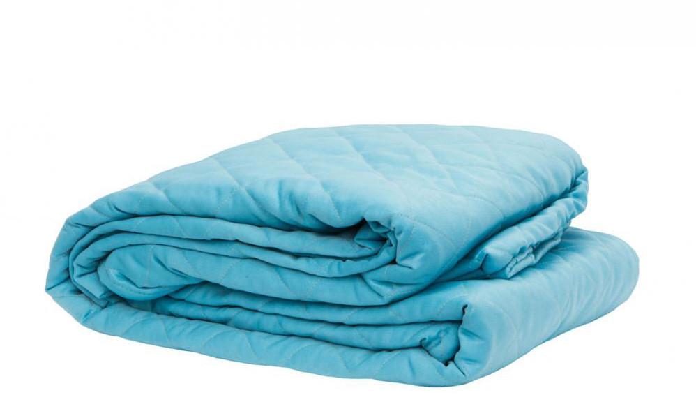 Одеяло летнее двуспальное 180*210 микрофибра 200г/м2 (2904) TM KRISPOL Украина